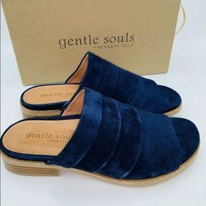 "🌼""Gentle Souls"" Gayle Slide Sandal, Navy 8.5M🌼"